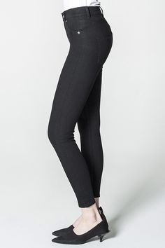 Cheap Monday Image 3 of High Spray Black Jeans in Black