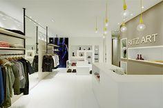 Retail Design | Store Interiors | Shop Design | Visual Merchandising | Retail Store Interior Design | Ritz Art fashion store by Heikaus Biberach Germany