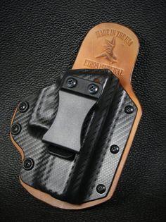 IWB Hybrid Kydex Holster Atac Vista Pink for GLOCK Handguns
