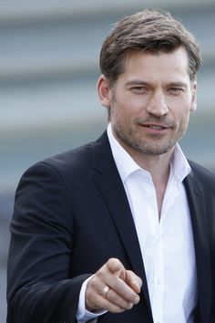 Nikolaj Coster-Waldau attends 'A Secon Chance' photocall during San Sebastian Intertantional Film Festival at the Kursaal Palace in San Sebastian, Spain . Cersei And Jaime, Nikolaj Coster Waldau, Jaime Lannister, Hottest Male Celebrities, Sharp Dressed Man, Beautiful Men, Beautiful People, Film Festival, Role Models