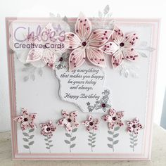 Chloes Creative Cards Craft, Cardmaking and Papercraft Supplies Chloes Creative Cards, Stamps By Chloe, Create And Craft Tv, Crafters Companion Cards, Cardmaking And Papercraft, Paper Crafts, Card Crafts, Making Ideas, Birthday Cards