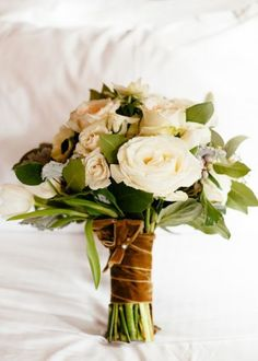 Perfectly Autumnal Wedding Bouquets