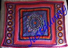 """Magic Carpet Ride"" - Mandala experiment pattern  ~ free pattern ᛡ"