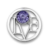 Mi Moneda LOVE purple