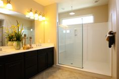 Rain shower faucets?? Yes please. At Lennar's Coronado Hill in Henderson