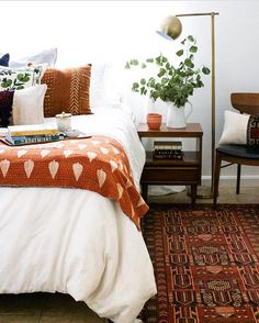 42 Stylish DIY Interior Designs You Should Already Own – Audrey Jones 42 Stylish DIY Interior Designs You Should Already Own Hello everyone, Today, we have shown Audrey Jones Fall Bedroom Decor + Bedding for Fall + Fall Colors + Home Decor + Fall Designs Fall Bedroom Decor, Home Bedroom, Bedroom Ideas, Bedroom Suites, Orange Bedroom Decor, Bedroom Neutral, Bedroom Designs, Modern Bedroom, Bedroom Wall