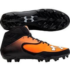 70d4131da Under Armour Men s Nitro Icon Mid MC Football Cleat - Dick s Sporting Goods  Football Cleats