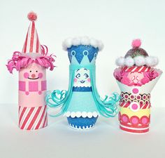 hello, Wonderful - CANDYLAND CHARACTERS PAPER TUBE CRAFT