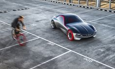 Vauxhall and Opel will reveal their vision of the future sports car with the GT Sport Coupe Concept at this year's Geneva International Motorshow. Opel Gt Concept, Concept Cars, Geneva Motor Show, Sports Sedan, Car Images, Ford Bronco, Car And Driver, General Motors, Automotive Design