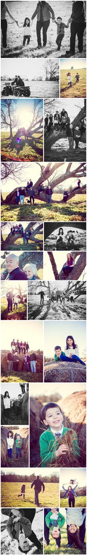 Family photos on the farm in KY!  Photos by Tausha Ann Photography