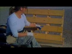 Video on Building an adirondack chair using pallets with tips/tricks... Use this site for further info & other pallet ideas: http://webecoist.momtastic.com/2010/04/07/art-of-upcycling-20-diy-wood-pallet-reuse-project-ideas/