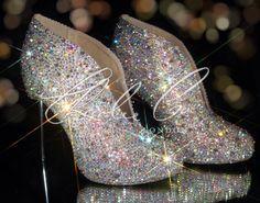 ♥SWAROVSKI Diamond Bling Booties