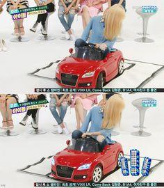 5歳児テヨン☺ 自動車講習開講*Weekly Idol - TAEYEON CNDY NEWS ☺ snsd