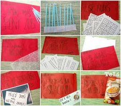 blog- TeLi : Otevři mě, když ... Picnic Blanket, Outdoor Blanket, Washi, Blog, Presents, Gifts, Gifs, Picnic Quilt