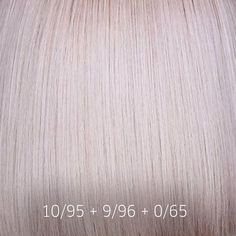 with a hint of pink with this beautiful formula fro. Hair Color Guide, Hair Color Formulas, Wella Toner, Hair Toner, Dyed Blonde Hair, Icy Blonde, Blond Rose, Pelo Color Plata, Professional Hair Color