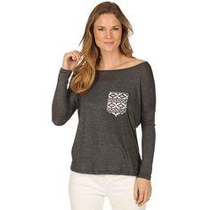 Katydid Aztec Pocket Wholesale Rhinestone T-Shirts - KatydidWholesale.com