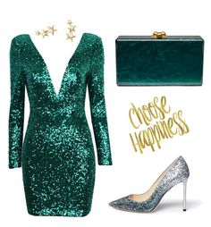 """""""am ready"""" by stylistvibes on Polyvore featuring Edie Parker, Jimmy Choo, Kenneth Jay Lane and stylist_vibes"""