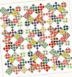 Niner Quilt Pattern Download by Thimble Blossoms now available at ConnectingThreads.com