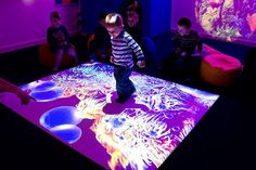 Interactive Floor for #Kids Engagement! in #Shopping Mall ...