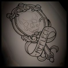 mirror tattoo - Google Search