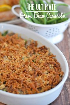 This Ultimate Green Bean Casserole is a fresh spin on the classic, using fresh mushrooms and cream to replace the traditionally used canned ...