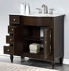 4-Drawer Bathroom Vanity