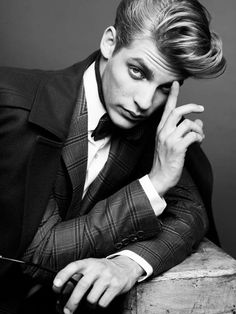 The Baptiste Radufe Weekend Knack Cover Story Embodies Sophistication #coats #mensfashion trendhunter.com