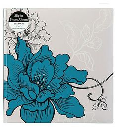 #Anker Blue Botanical Photo album 6x4 - 140 #56 Advantage card points. This Blue Botanical photo album is a stylish way to keep your treasured pictures in one place. FREE Delivery on orders over 45 GBP. (Barcode EAN=5012128356292)
