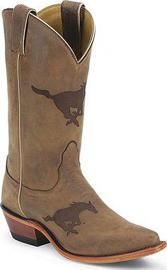 Nocona Southern Methodist University Mustangs College Boot