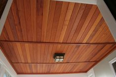 grusby woodworks. - ENTRY - Entryway porch ceiling-spanish cedar tongue and groove recessed panel