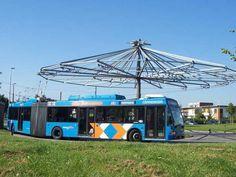 Trolleybus arnhem keerpunt Busses, New Perspective, Old Trucks, Coaches, Climate Change, Netherlands, Holland, Trains, Transportation
