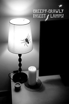 Halloween is just around the corner, and what better way to decorate than with some creepy crawly insects? Eww!! I came up with this super simple DIY over on Say Yes to Hoboken today, so feel free to go check it out! Your lamps will be creepy and gross and disgusting in no time! :)Continue Reading >