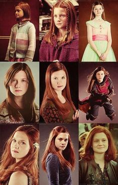 Ginny During The Years