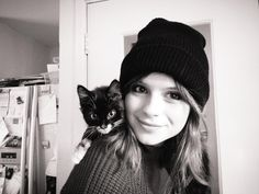 Gabrielle Aplin  Kitty scarf