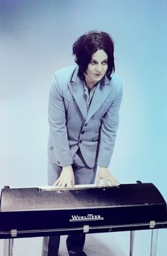 Jack White - Every goth girl's boyfriend. He looks like a character invented by Tim Burton. Haha.