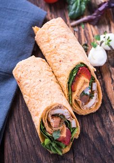 Wraps Wraps, Fresh Rolls, Food And Drink, Ethnic Recipes, Browning, Meat, Food Portions, Food And Drinks, Food Food