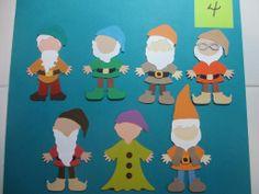 The Seven Dwarfs Paper Doll Swap ~ COMPLETE ~ - The DIS Discussion Forums - DISboards.com Disney Scrapbook Pages, Scrapbook Cards, Scrapbooking Ideas, Scrapbook Layouts, Felt Crafts, Paper Crafts, Baby Boy Scrapbook, Cricut Cards, Crochet Bear