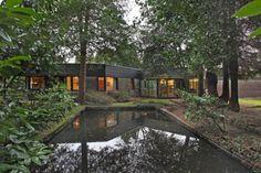 1970s Granville Gough designed house, Cheshire