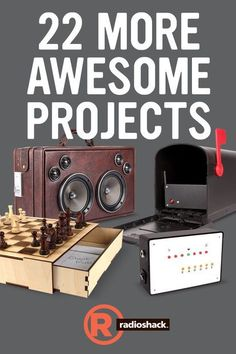 RadioShack Presents 22 More Awesome Projects #arduino #randofo #electronics