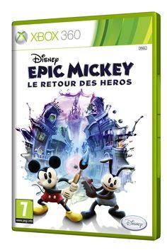 Disney Epic Mickey : Le Retour des Héros - Créez votre board « Liste Magique de Noël Disney », épinglez-y 20 produits maximum qui viennent de notre board « Liste Magique de Noël Disney ». Chaque jour un « cadeau du jour » est à gagner par tirage au sort. Le 21 Décembre, celui qui aura le plus de like sur son board « Liste Magique de Noël Disney » gagnera la totalité de son board. Cadeau du jour : 12/12/12 - http://www.disney-television.com/reglement-pinterest-Noel-Disney.pdf -  #NoelDisney
