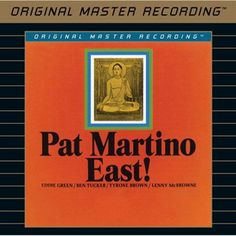 Pat Martino - East! on Limited Edition Hybrid SACD from Mobile Fidelity