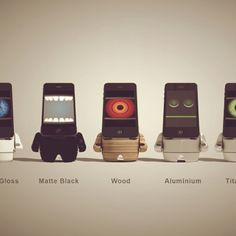 Funny iPhone Dock.