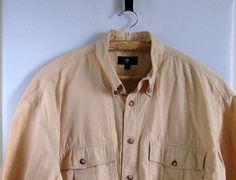 Vintage Mens Shirt  Sears Student 70s Shirt1970s by artwardrobe, $19.00
