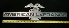American lafrance fire truck emblem with eagle Fire Trucks, Chevrolet Logo, Eagle, American, Vehicles, Fire Engine, Car, Fire Truck, Vehicle