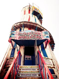 Helter Skelter on Brighton Palace Pier