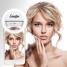 Selfie Ring Light, Leadpo 36 LED for iPhone Samsung Galax... https://www.amazon.com/dp/B01JLVS0GO/ref=cm_sw_r_pi_dp_x_VZQhybEKDM4D8
