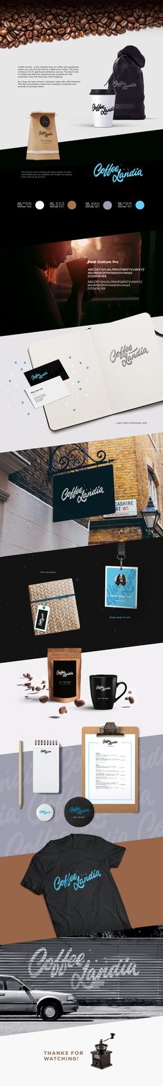 """Check out this @Behance project: """"CoffeeLandia"""" https://www.behance.net/gallery/47201193/CoffeeLandia"""