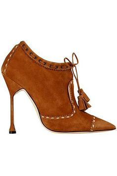 Manolo Blahnik - Shoes - Fall-Winter. WOULD SO WEAR THESE!!!