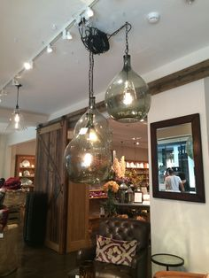 Pottery Barn pendants