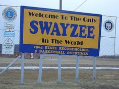 Swayzee, Indiana. The only Swayzee in the World! 9 Basketball Overtime Game in 1964.